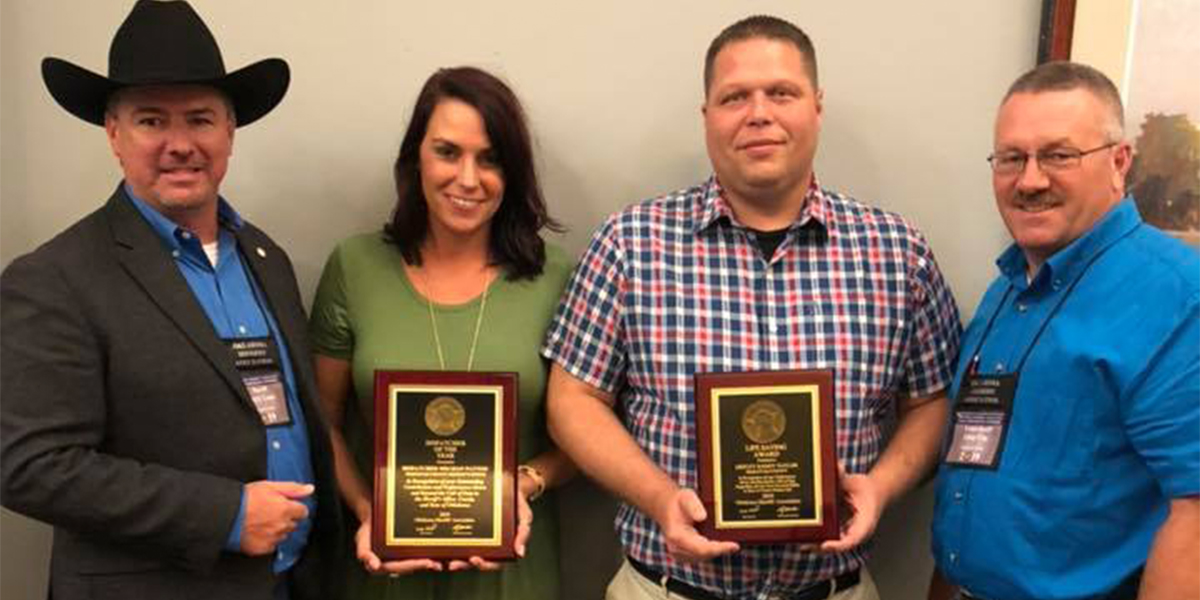Two SCSO Staff Members awarded at Summer Conference